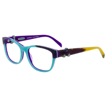 Coco Song Green Wood Eyeglasses